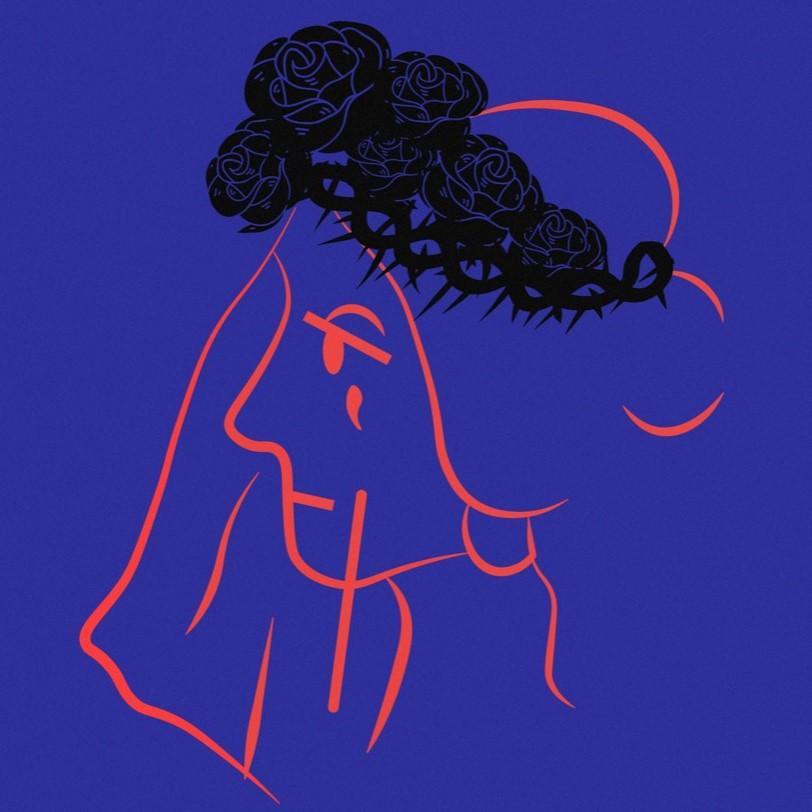 Zoraki Evlilik Logo Mavi
