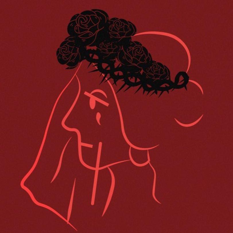 Zoraki Evlilik Logo Kırmızı